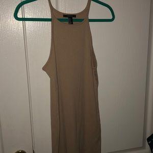 tight tank top dress from F21